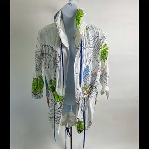 Trelise Cooper Curate Trench Coat with Birds
